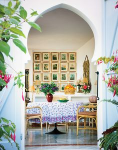 Madison Cox's house in Tangier, T Magazine, photo by Oberto Gili