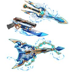 Anime Weapons, Fantasy Weapons, Bellatrix, Anime Scythe, Sword Drawing, Sword Design, Harry Potter Drawings, Badass, Weapon Concept Art