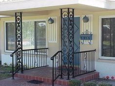 iron porch columns | ... of wrought iron look no further than the selection here at old iron