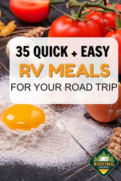 RV Dinner Ideas for your next camping trip! This is a great list for packing and planning meals to easily whip up in your RV. We have included meals you can make ahead, crockpot, meals for busy families, as well as simple meals that turn out awesome! Camping Food Make Ahead, Camping Menu, Camping Recipes, Dinner Ideas For Camping, Camping Hacks, Camping Dishes, Camping Desserts, Camping Cooking, Camping Supplies