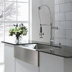 Vigo 30  30Inch Sink And Faucet Menards $600  Kitchen New Menards Kitchen Sinks Decorating Design