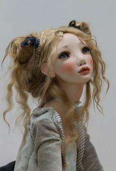 Alisa Filippova - Las muñecas de esta artista rusa son verdaderas obras maestras, presentes en las más prestigiosas exposiciones en el arte de las OOAK dolls.