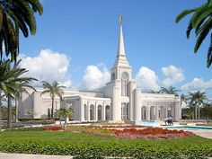 Ft. Lauderdale temple. Currently being built in Davie, FL. I will definitely be back to see it someday.
