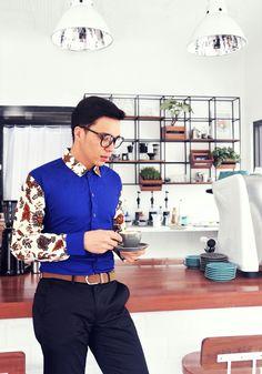 COHESIVENESS MINIMALIST - Batik menswear for spring/summer 2017