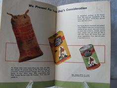 Old Trusty Dog Food Company Dog Care Manual by BlueSkiesVintage4U, $3.50