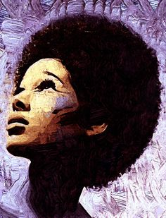 afro painting by joel kelly African American Art, African Art, Natural Hair Art, Natural Hair Styles, Afro Painting, Jackson, Afro Art, Dope Art, Black Is Beautiful