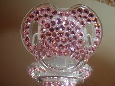 cUTE BABY bLING Pacifier Infant Pacifier Crystallized Pacifier Baby  http://www.fashionblings.com