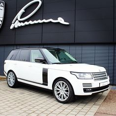 Range Rover - This will look nice in my driveway