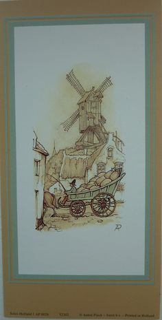 ANTON PIECK-SET OF 5 DECOUPAGE PRINTS (windmill): Amazon.co.uk: ANTON PIECK: Books