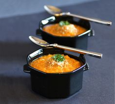 Roasted Sweet Potato and Quinoa Soup. Healthy, easy and delicious.