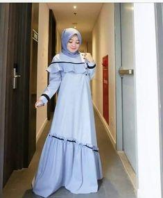 Model baju Gaun Dress, Dress Brokat, Dress Anak, Dress Muslim Modern, Muslim Dress, Abaya Fashion, Muslim Fashion, Fashion Dresses, Simple Long Dress