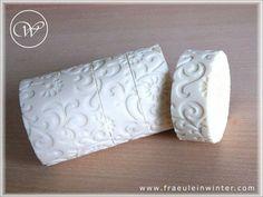 whit round soap - Impression Mat