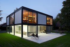 Zoersel House, Zoersel, Belgium (1969)