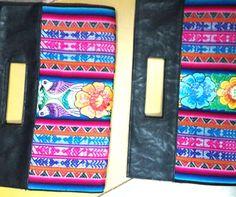 Clutch bolso andino en Miraflores, carteras artesanales, sobre en biocuero con aplicación de telar andino en Lima, una combinación vintage recogiendo lo ancestral y deslizándolo en la moda actual. https://www.facebook.com/KuzkaPeruvianHandicrafts
