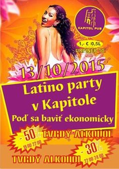 Latino party utorok 13.10.2015