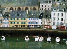 Port de Le Palais, Belle-Ile en mer, Bretagne, France