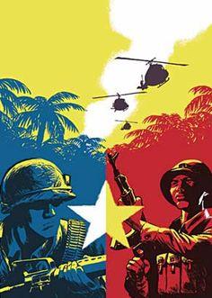 Communist Propaganda Posters of the Vietnam War. Cold War Propaganda, Communist Propaganda, Propaganda Art, Vietnam History, Vietnam War Photos, Military Art, Military History, War Comics, Comic Art