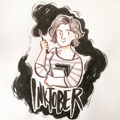 guess who is really excited about #inktober2016 ? I can safely say that joining this challenge last year was one of the greatest challenges since I decided to become and illustrator! And totally encourage every aspiring or estabilished artist to try it if they want to see some impressive growth in their illustration style and drawing techniques!!! ❤️ Let's join #inktober and have this crazy blotchy, ink dripping adventure together!! 🤘🏻 Oh, and you know what's also making me UBER hyped? I'm…