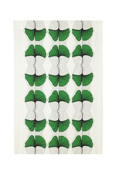 A lovely little print to add a pop of green to your home.Ikea Anavandbar Fabric, $19.99, available at Ikea. #refinery29 http://www.refinery29.com/ikea-furniture#slide-8