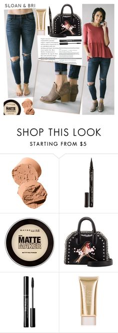 """""""SLOAN&BRI"""" by gaby-mil ❤ liked on Polyvore featuring Bobbi Brown Cosmetics, Smith & Cult, Maybelline, STELLA McCARTNEY, Jane Iredale and sloan"""