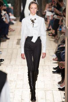 Designers Maria Grazia Chiuri and Pierpaolo Piccioli - Model: Paulina Frankowska