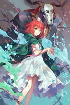 Mahou Tsukai no Yome (The Ancient Magus' Bride) Image - Zerochan Anime Image Board Otaku, Art Manga, Manga Anime, Anime Cosplay, Kawaii Anime, Chise Hatori, The Garden Of Words, Fan Art Anime, Anime Galaxy