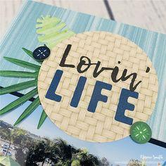 Vitamin Sea! June 2020 1-2-3 Sketch Vitamins For Memory, Sketches Of Love, Scrapbook Sketches, Scrapbook Layouts, Creative Memories, Scrapbook Supplies, Scrapbooks, Summer Collection, Card Stock