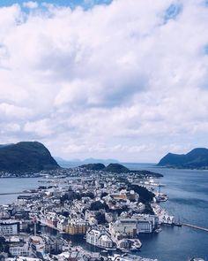 Another cute city  #ålesund #visitålesund #norway #travel #westnorway