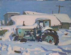 P. Popov Russian Landscape, Soviet Art, Past, Fine Art, Artist, Paintings, Paint, Artists, Painting Art