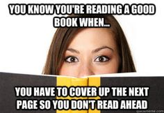 True story. #booknerd