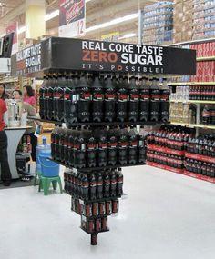 Coca Cola Zero: It's Possible! }- repinned by www.BlickeDeeler.de