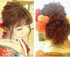 wedding hair styles hair pin by tom on 和装 ヘアスタイル 1766