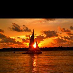 Sunset Celebration on Mallory Square, Key West,FL
