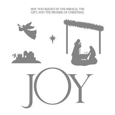 Joyful Nativity Photopolymer Stamp Set by Stampin' Up!