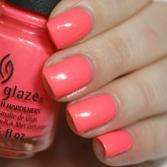 China Glaze Bite Me from the Lite Brites Summer 2016 collection