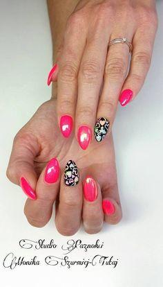 by Moniki Szurmiej-Tutaj, Find more inspiration at www.indigo-nails.com #nailart #nails #omg #polish #indigo #pink