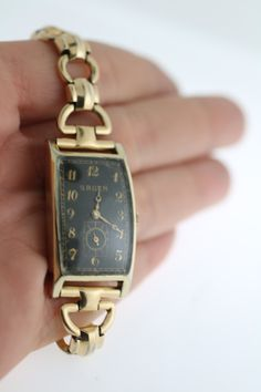 Vintage 1942 Gruen Ladies Watch by WhitesVintage on Etsy  www.whitesjewelryandcoin.com