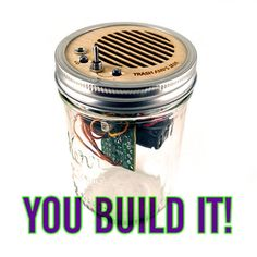 Diy Speaker Kit Mason Jar