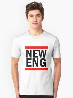 NEW ENGLAND | Unisex T-Shirt | #tumblr #shopping #sale #fashion #art #quotes #words #tshirt #positivevibes #positive #fake #people #love #patriots #everybody #afc #newengland #england