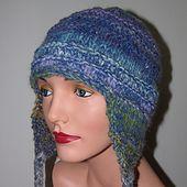 Ravelry: Bulky Earflap Hat pattern by Jill Bujold - Free Pattern