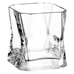 hand-made crystal glass, mouth-blown by artisans at boutique Italian company, Arnolfo di Cambio ( I may or may not own 3)