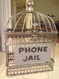 Students choose to put their cell phone in jail at the beginning of class and won't be tempted to use it (or get it taken away).  They love having this option!