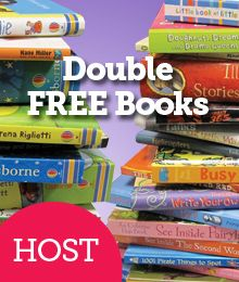 Host an Online eParty or Facebook Party this month and earn DOUBLE Free Books! www.booksfromjamie.com