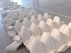 Invisible City - Gypsum Models   yyycarrie