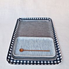 Muhs Home - Fog Linen Resin Tray