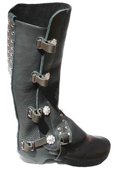 half chaps with studs