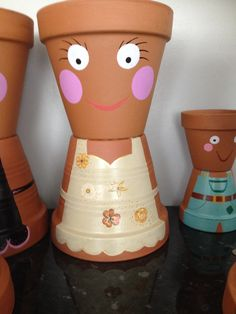 Flowerpot man in the make - finished pic to follow xxx