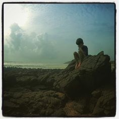 Konkan beaches in monsoon