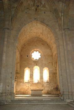 Abbaye_de_Silvacane  Le chœur