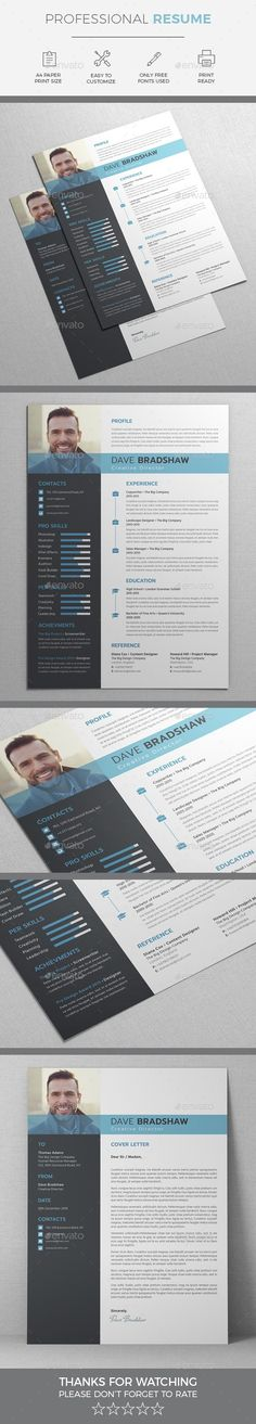 27 best Indesign Resume Templates images on Pinterest | Indesign ...
